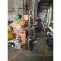 30/50/100 / 200L Cuve à bulles en cuivre en acier inoxydable reflux lunaire Distill / Distillation colonne Lait canette / prix usine bolier