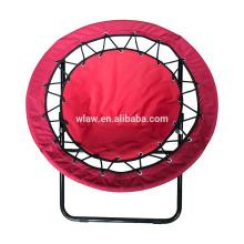 cadeira de dobramento ao ar livre do tirante com mola / cadeira redonda dobrável da malha