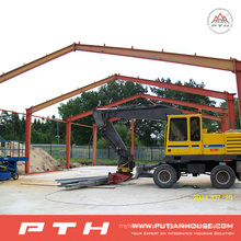 Project in Gabon Steel Structure Prefabricated Building Hotels