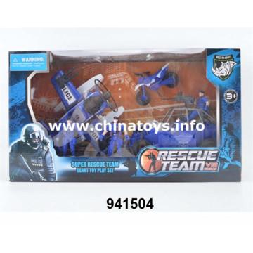 Fuerzas de campo de juguete populares, armas, armas. Conjunto de soldado (941504)