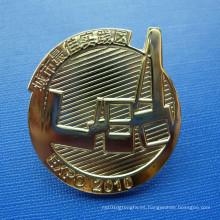 Pin desigual de la solapa del metal, insignia organizativa de encargo (GZHY-LP-022)