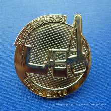 Pin desigual da lapela do metal, emblema organizacional feito sob encomenda (GZHY-LP-022)