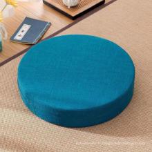coussin de siège de tatami de méditation de yoga de remplissage de mousse de mémoire
