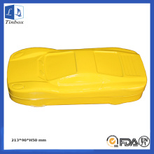 Yellow Car Shape Papel de carta Tin Box