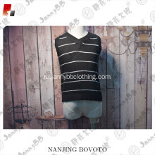 2017 new style Black sleeveless fashion sweater
