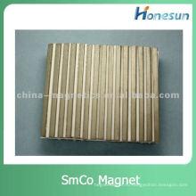 спеченным sm2co17 формы магнита дуги R12XR8XL70