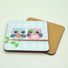 Promotion cheap absorbent waterproof paper cardboard beer coaster