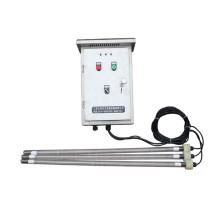 Desinfección del tanque de agua Esterilizador UV de inmersión tipo tornillo