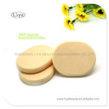 Maquillage ovale éponge éponge Latex cosmétiques maquillage Puff