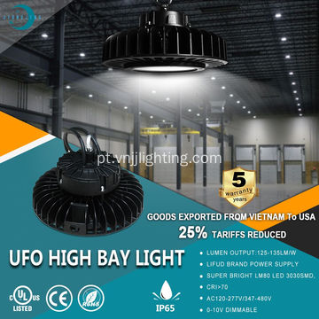 135LM / W UFO High Bay Lighting-IP65