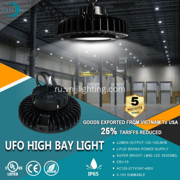 135 лм / Вт UFO High Bay Lighting-IP65
