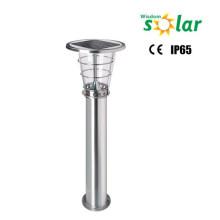 Les lampes pour l'éclairage de jardin pelouse extérieure dirigée lumen élevé inox solaire LED lampes de pelouse ROHS, IP65