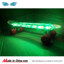 Complete Diamond Design LED Skateboard Backpack