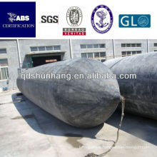 rubber high pressure inflatable air bags for lifting in water
