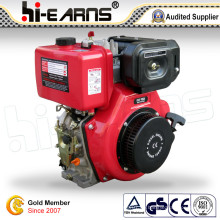 Diesel Motor Recoil Start mit Nockenwelle Rot Farbe (HR186FS)