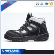 НЧ замша кожа верхней тренеров безопасности обувь UfB022