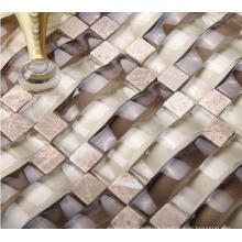 Arch Mosaic, Wall Glass Mosaic Tile (HGM257)