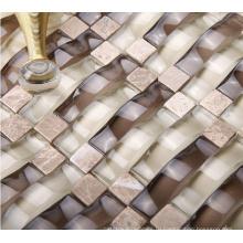 Arch Mosaic, Мозаичная плитка из стеклянного стекла (HGM257)