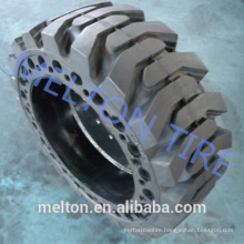 china tire factory 40x9x13 bobcat solid tire with rim best price