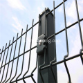 Pvc Coated Galvanized Decorative 8 ft Fencing