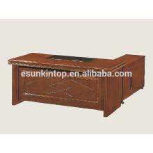 Secretária executiva de carpetes de madeira, acessórios de mesa para escritório (A-31)