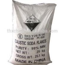 Perles / flocons de soda caustique / solides