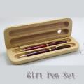 Logo Design Gift Pen Set with Wood Box