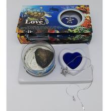 Love Pearl Necklace Kit with Turtle Cage Pendant