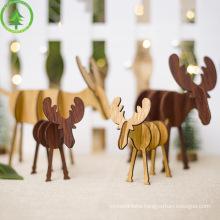 15/20/25cm Reindeer Christmas Deer Xmas Elk Plush Simulation Christmas Decorations For Home Merry Christmas New Year Ornaments