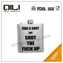 18/8 304 FDA and LFGB high quality graduated flask gift