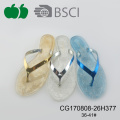 Popular New Style Lady Pvc Sole Flip Flop