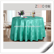Restaurant Coloful Polyester Venta al por mayor Manteles para Mesas Redondas
