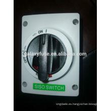 Solar DC DC interruptor del aislador 1000V