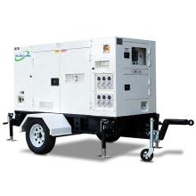 Popular Design 50hz 60KW Mobile Silent Diesel Generator With Wheels By Xichai FAWD CA4110-09D Engine Auto Start Hot Sales