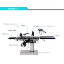 A tabela de operação manual pode combinar com o quadro ortopédico