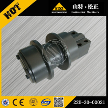 PC200-7 conjunto de rolos de transportador de material rodante de escavadeira 22U-30-00021