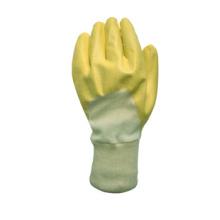 Gelber Nitril Coated Chemical Work Glove-5033