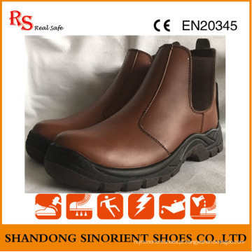 No Lace Chelsea Work Boots RS033