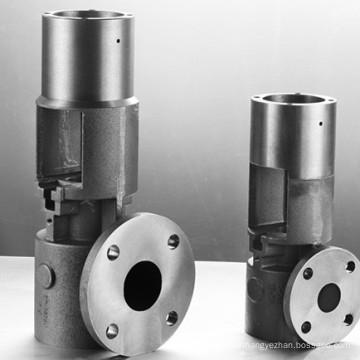 Pompe à vis personnalisée avec usinage