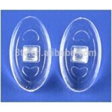 Pièces de cadre optique, coussinets en silicone
