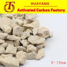 Meios filtrantes de pedra Maifanite para tratamento de águas residuais