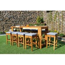 Producto Premium PE Rattan Bar Set para muebles de mimbre de jardín al aire libre