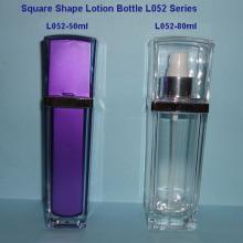L052A bouteille de Lotion carré