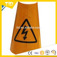Mangas refletivas do cone de tráfego refletivo de PVC