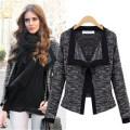Mode Frauen Slim Button Kragen Casual Business Blazer Anzug (50010)