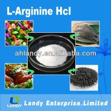 Grado alimenticio de la L-arginina HCL de alta calidad