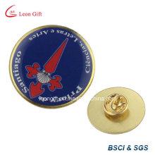 Distintivo de Metal oficial um Tee com epóxi capelão crachá Pin