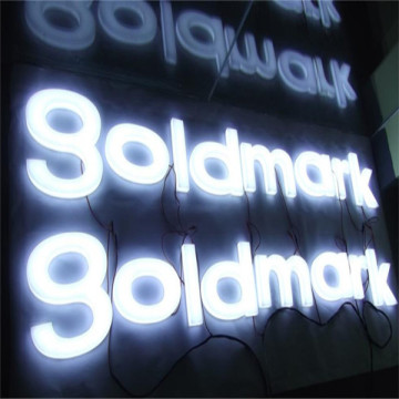 Custom LED Lit Acrylic Letter Sign