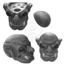 Nouvelle arrivée Premium Skull Tattoo encre Cap coupe porte 8 trous