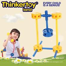DIY Plastic Education Kid's Toy Plastic Building Connector